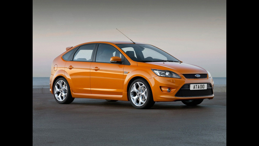 Le prime immagini della nuova Ford ST