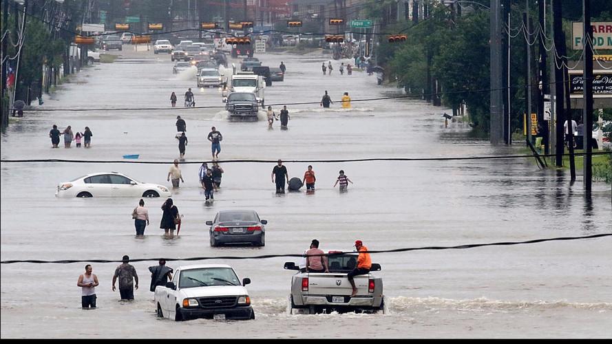 500'000 véhicules détruits au passage de l'ouragan Harvey