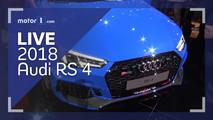 2018 Audi RS4 Live Look Thumbnail