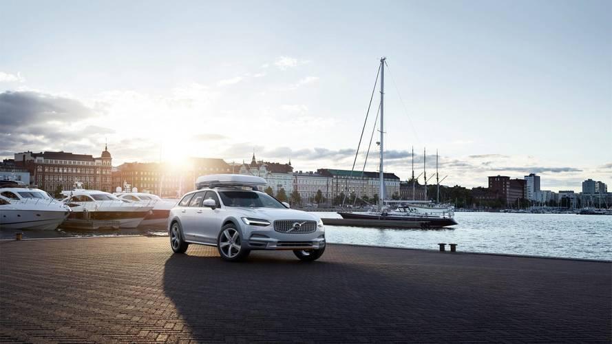 Volvo V90 Cross Country Ocean Race - Une petite fibre écologique