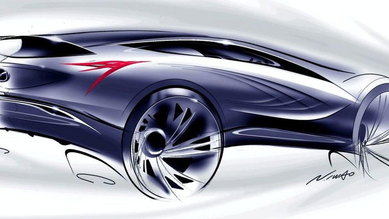 New Mazda sporty crossover SUV Concept