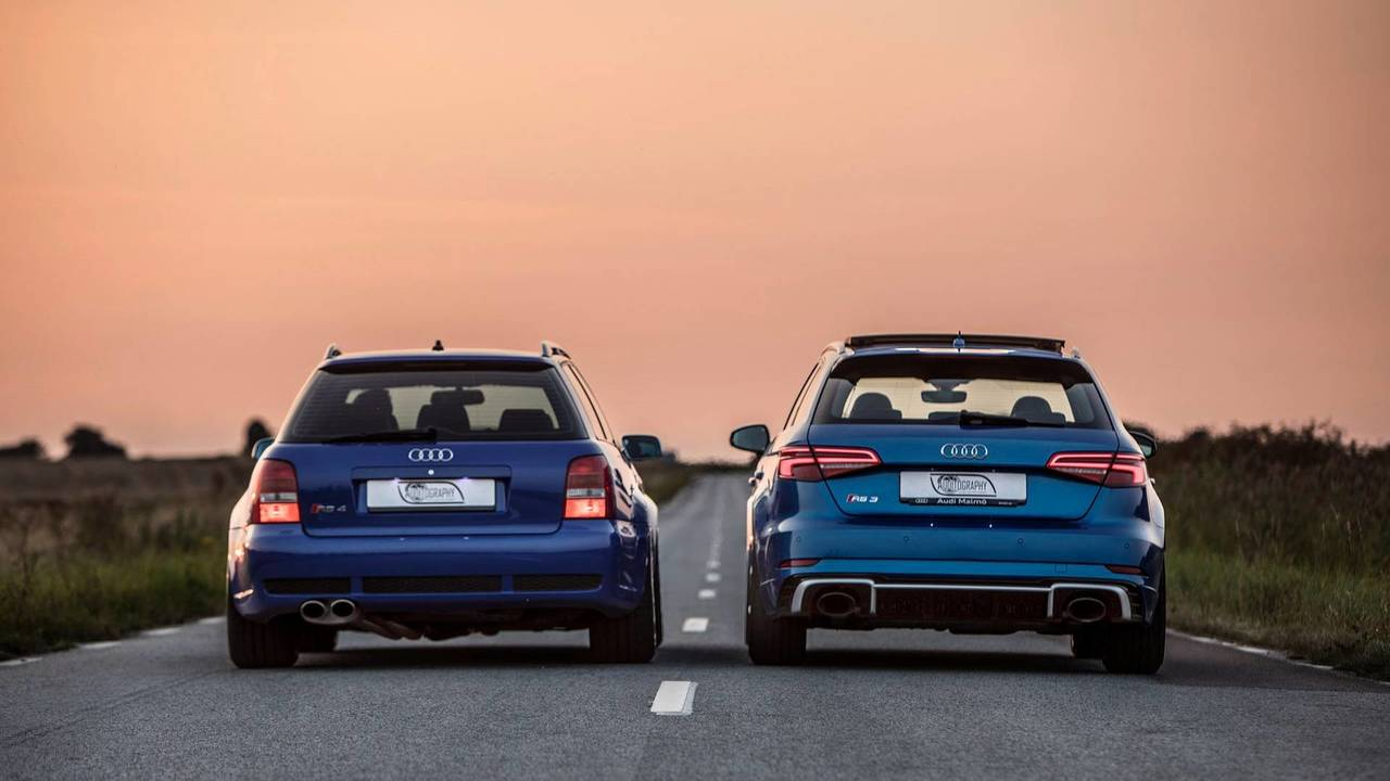 Audi Com The International Audi Website Audi Com >> 2018 Audi RS3 Sportback Vs. 2001 Audi RS4 Avant | Motor1.com Photos
