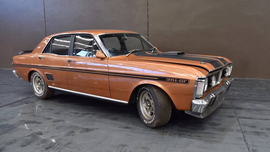 30 yıldır görülmeyen 1971 Ford Falcon GTHO açık arttırmada