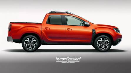 Des rendus du nouveau Dacia Duster, en versions pick-up, GT et 3 portes