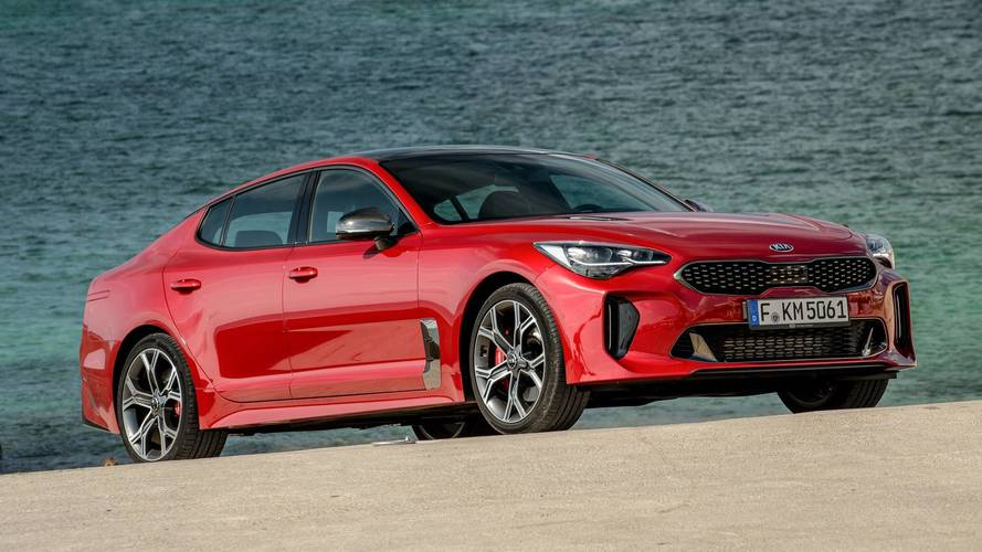 prueba kia stinger 2018 una berlina deportiva con aroma premium. Black Bedroom Furniture Sets. Home Design Ideas