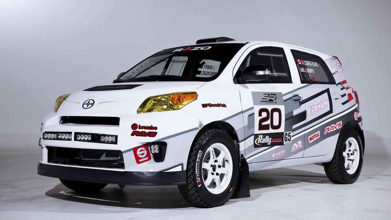 Scion xD rally car 24.1.2013