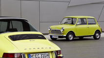 Classic MINI and Porsche 911 06.06.2013
