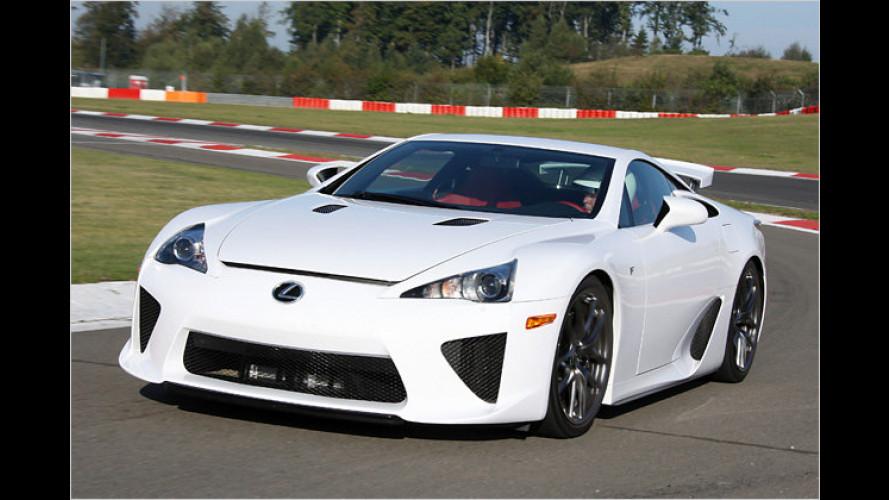 LFA: Der bisher stärkste Lexus aller Zeiten