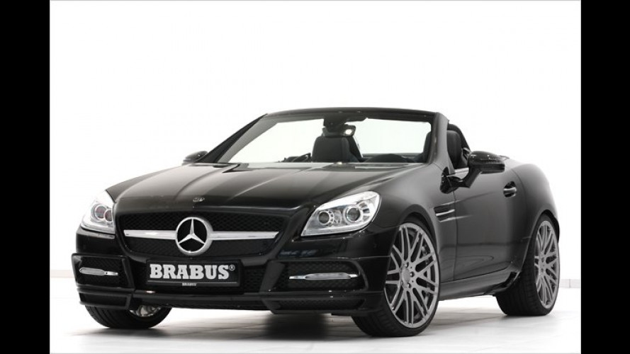 Knackiger gemacht: Mercedes SLK von Brabus