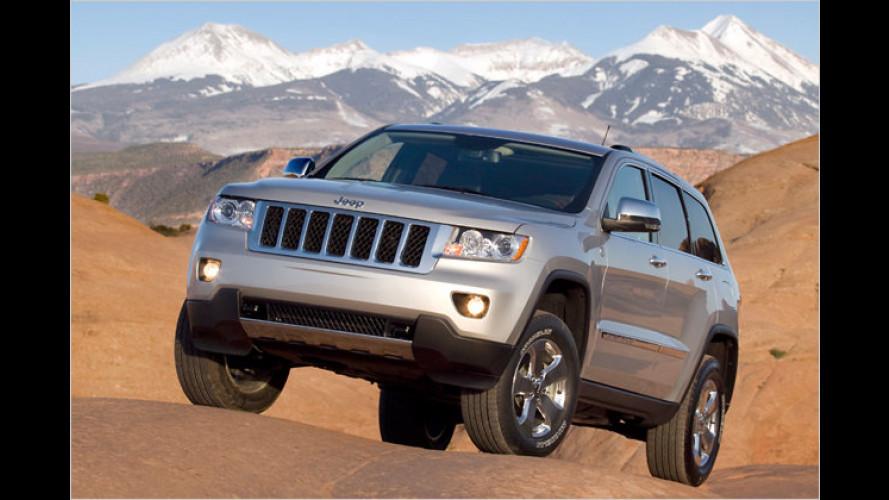 Ein richtiges Ami-SUV: Der neue Jeep Grand Cherokee