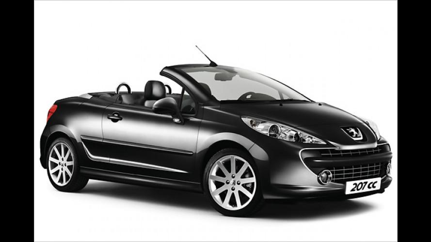 Peugeot 207 CC: Roland Garros als Ausstattungsversion