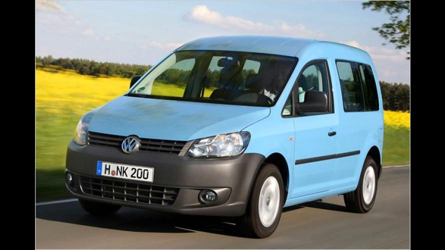 Der VW Caddy fährt jetzt auch mit Autogas