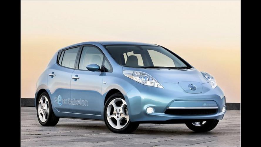 Produktion des Nissan Leaf läuft an