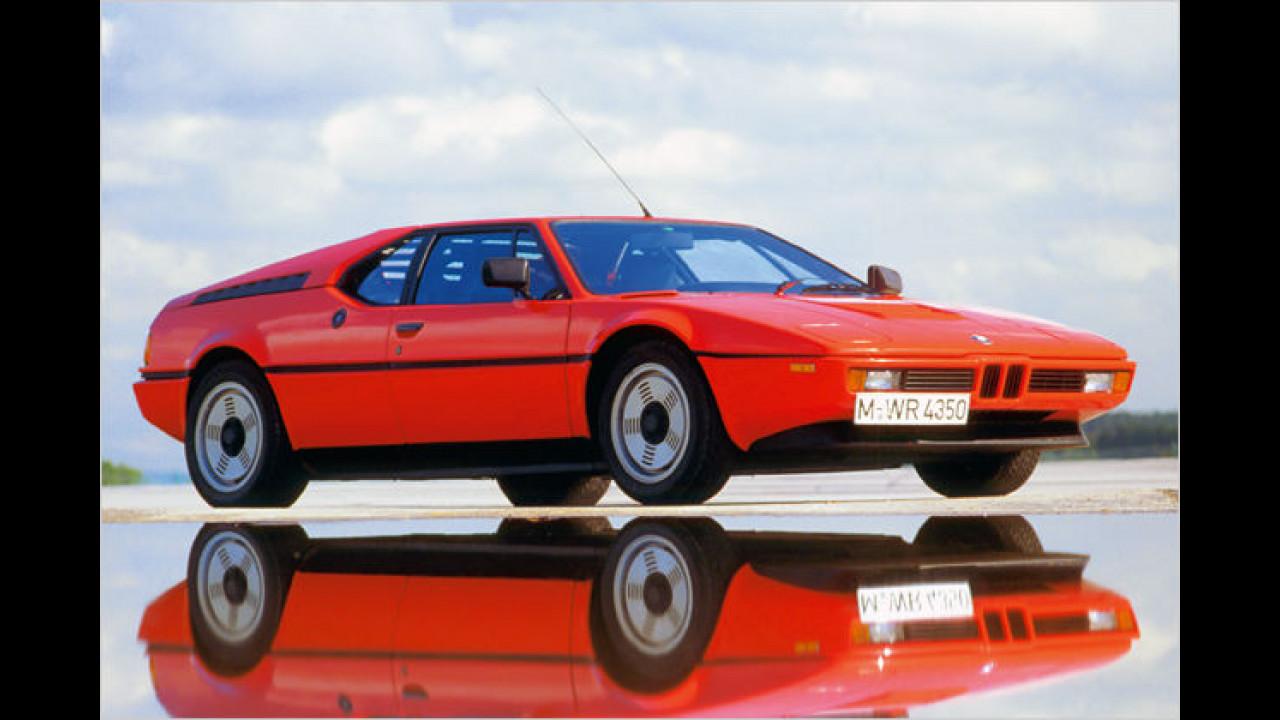 30 Jahre BMW M-Modelle