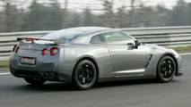 Nissan GT-R Spec V spy photos