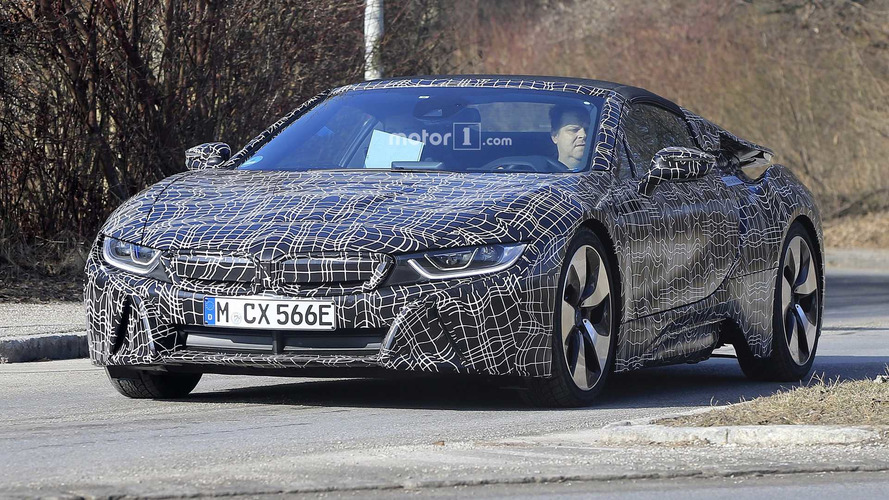 BMW i8 Roadster heading to LA motor show with extra power?