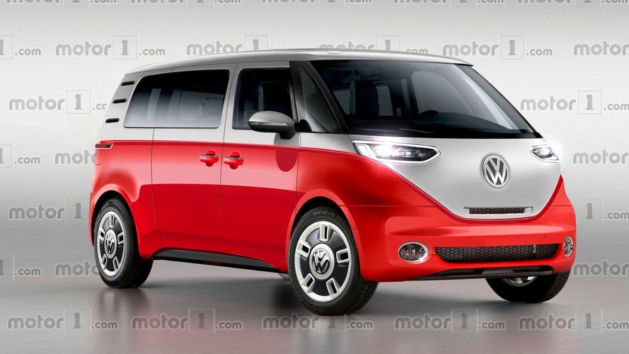 VW Bulli sıfır emisyonlu vintage bir minibüs olarak yeniden tasarlandı