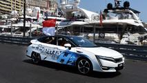 Monaco Prensi tarafından sürülen Honda Clarity Fuel Cell