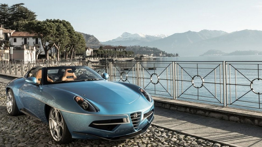 Alfa Romeo Disco Volante goes topless for Geneva [video]