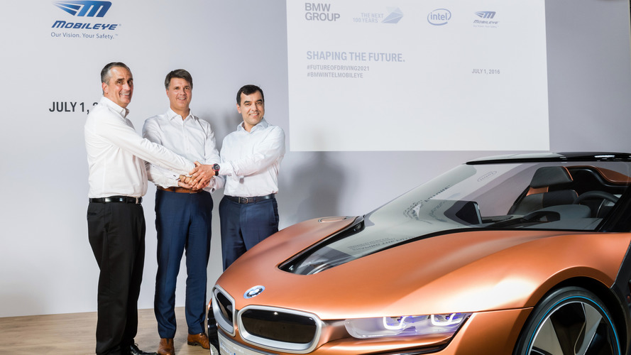 BMW, Intel, and Mobileye to develop fully autonomous car by 2021