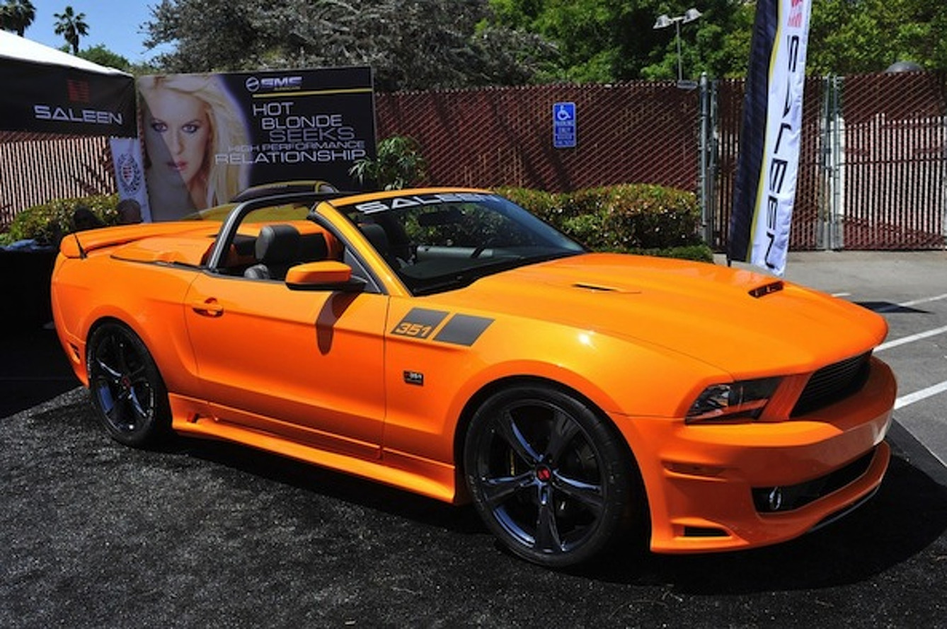 Saleen 351 Mustang Prototype Caught Sun Bathing