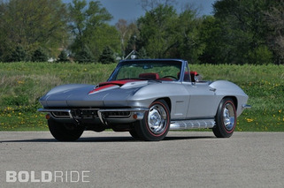Wheels Wallpaper - 1967 COPO Corvette