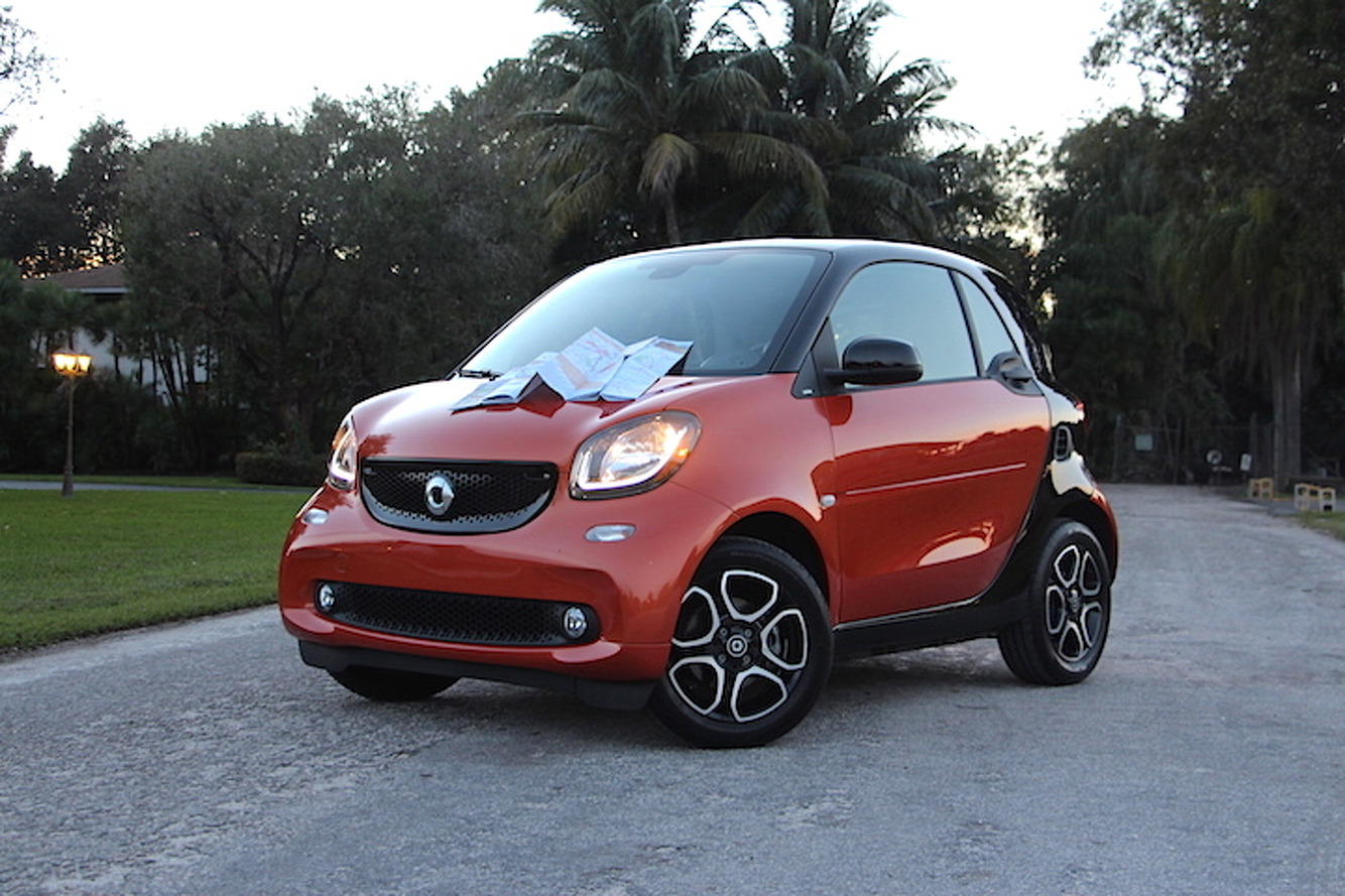 We're Taking a Tiny Road Trip in a Tiny Smart Car