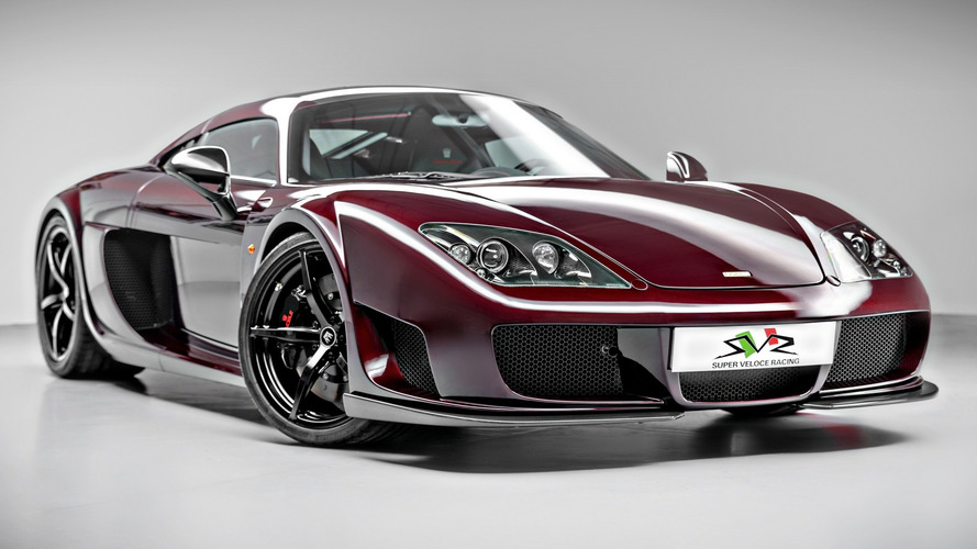 225-mph Noble M600 customer demonstrator car revealed