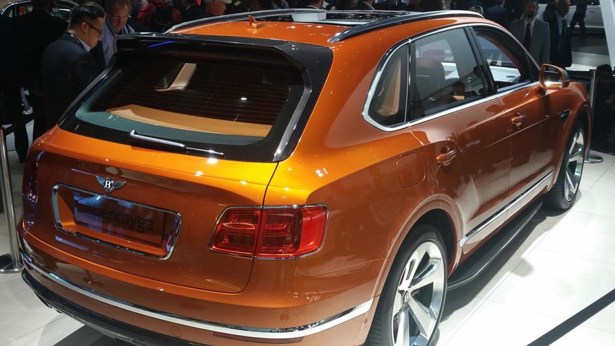 Bentley Bentayga makes public debut in Frankfurt