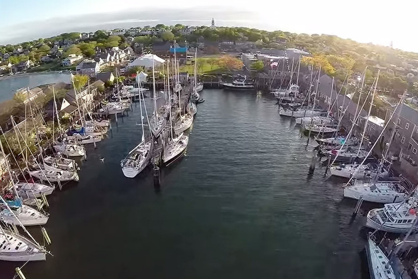 Drone Footage of Ocean Race Showcases Serious Wind-Powered Vehicles