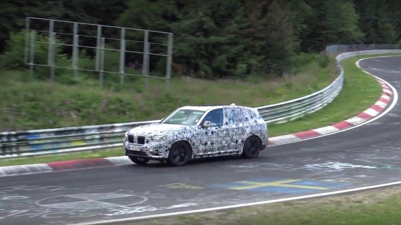 2018 BMW X3 screen shot