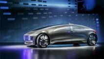 Conceito autônomo da Mercedes percorrerá mais de 1.000 km com um