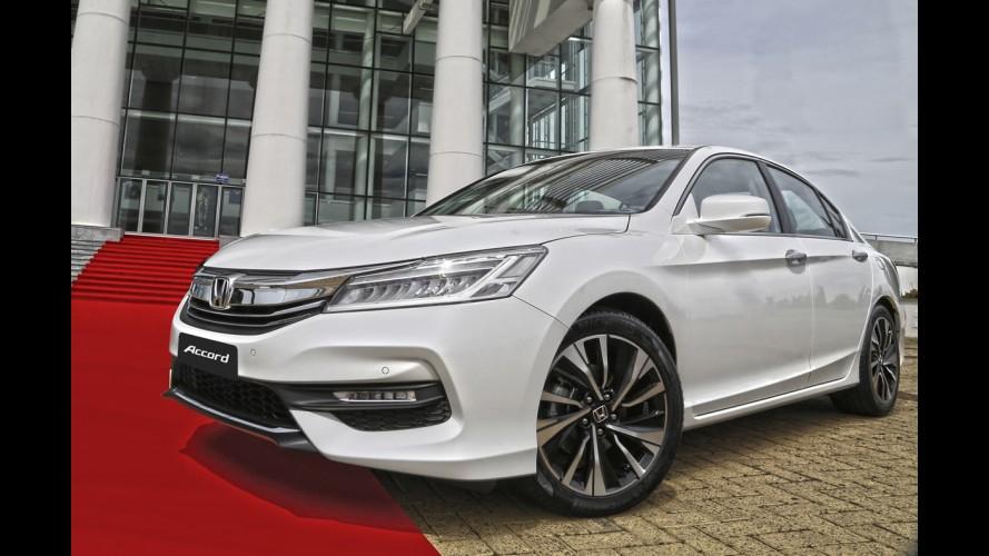Honda apresenta Accord 2016 no Brasil mais esportivo e conectado