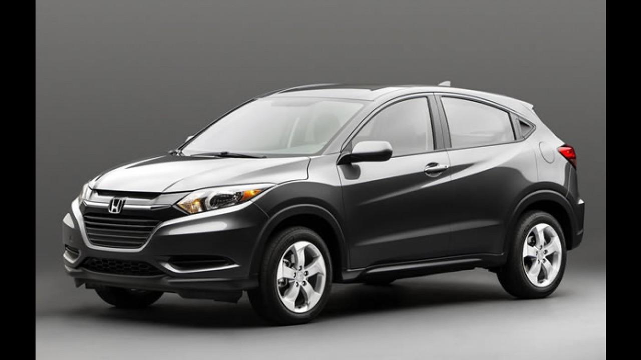 Atração da Honda em São Paulo, HR-V também estará em Los Angeles