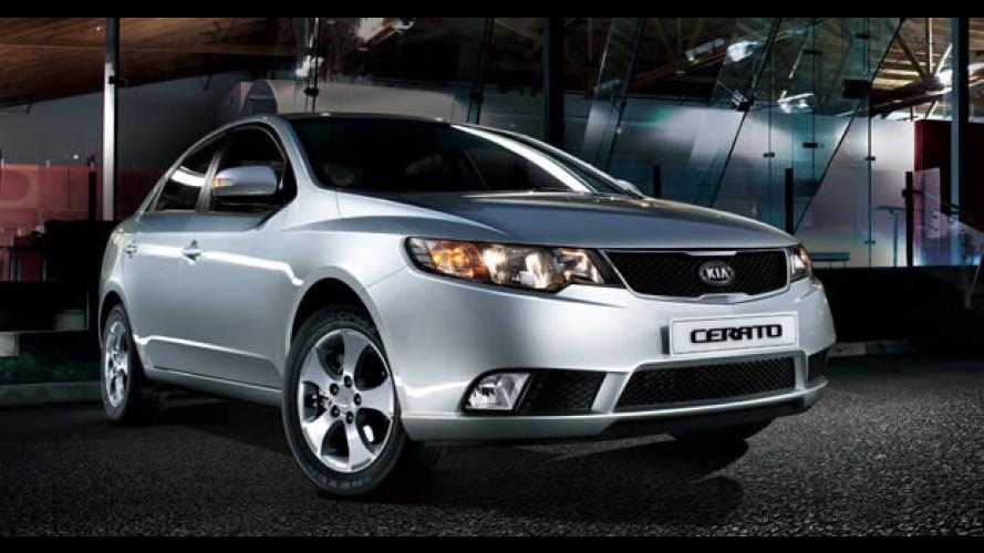 Kia Cerato é lançado na Argentina com motores 1.6 e 2.0 e preço inicial de R$ 38 mil