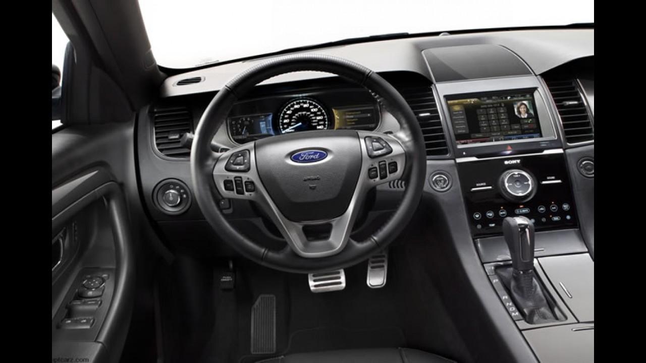 Ford Taurus 2013 tem preços divulgados nos Estados Unidos