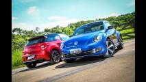 Teste duplo: VW Fusca e Citroën DS3 - Um pega apertado entre os novos hot hatches!
