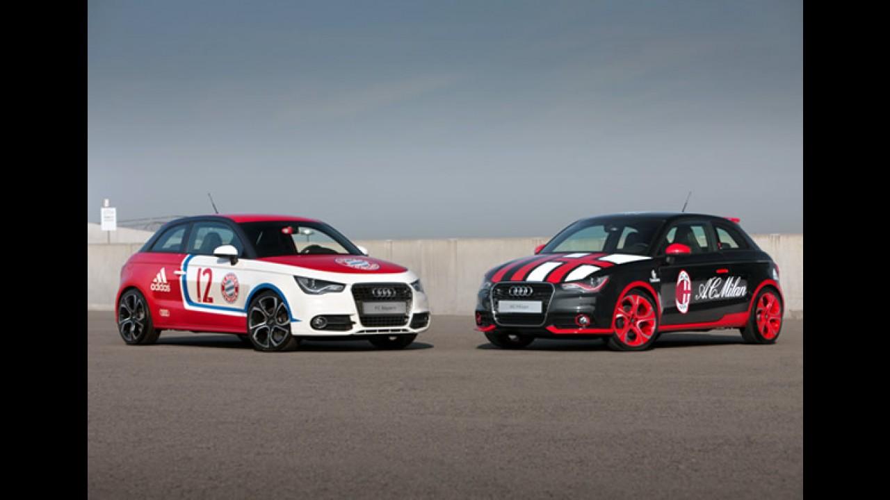 Audi Cup terá A1 personalizado com as cores e brasão do Internacional de Porto Alegre