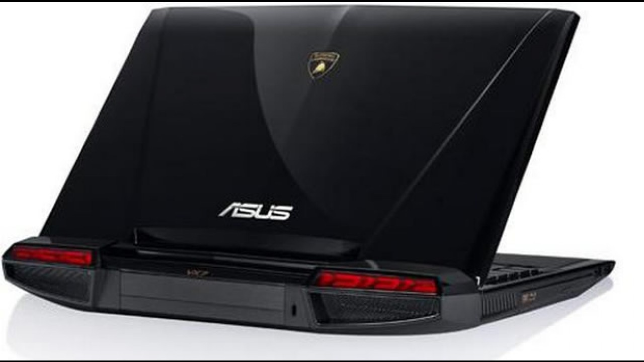 """Lamborghini vira inspiração para laptops """"superesportivos"""""""