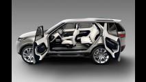 Super tecnológico, Discovery Vision antecipa nova família de SUVs da Land Rover