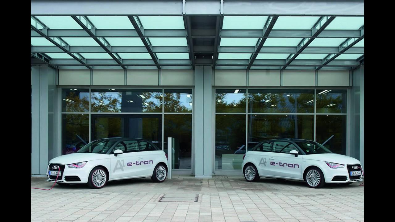 Elétrico: Audi A1 e-Tron começa ser testado na Alemanha