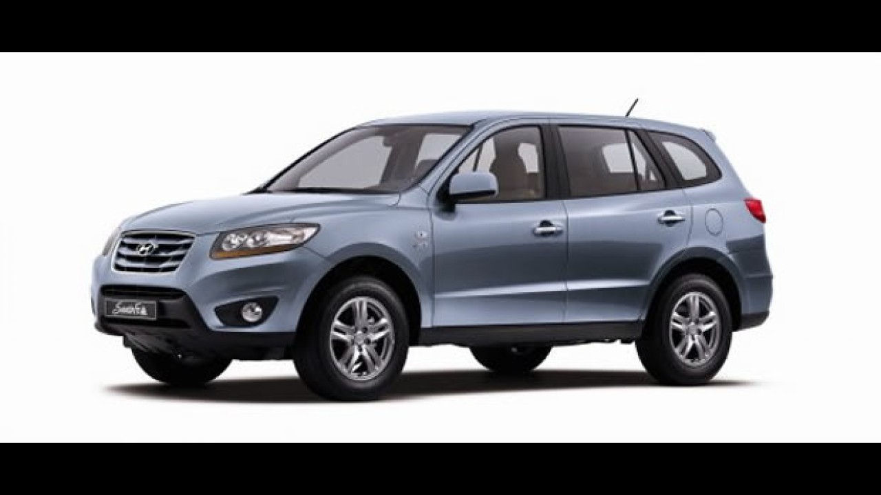 Hyundai Santa Fe ganha leve atualização visual e mais tecnologia na Coréia do Sul