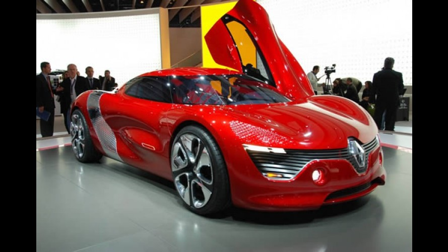 Fotos do Renault Dezir Concept no Salão de Paris