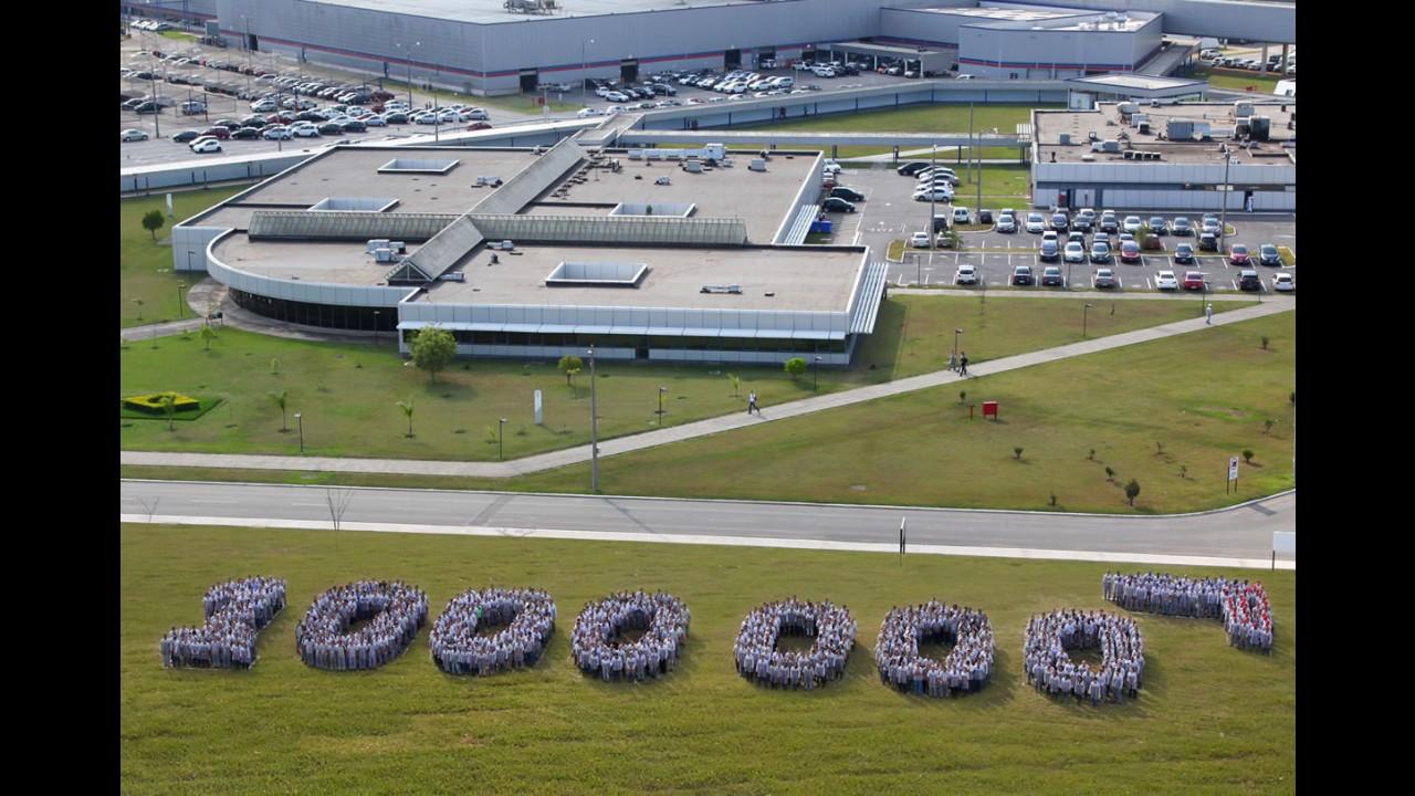 PSA Peugeot Citroën celebra 1 milhão de veículos produzidos no Brasil