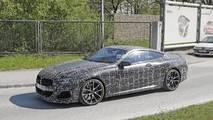 2019 BMW 8 Series Coupe spy photo