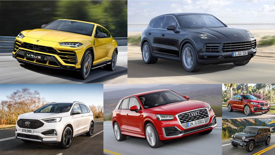 Welche Marke hat die meisten SUV-Modelle?