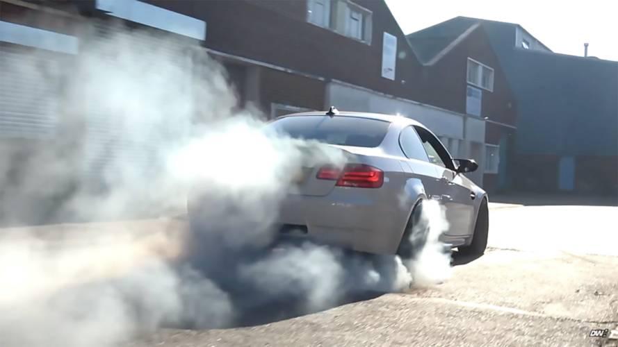 Bu BMW M3 650 beygirlik süperşarjlı bir LT4 V8'e sahip