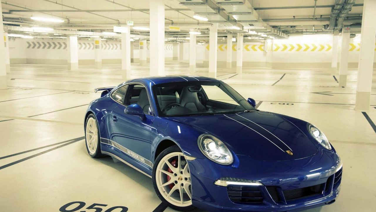 2013 Porsche 911 Carrera 4S built to celebrate 5M fans on Facebook