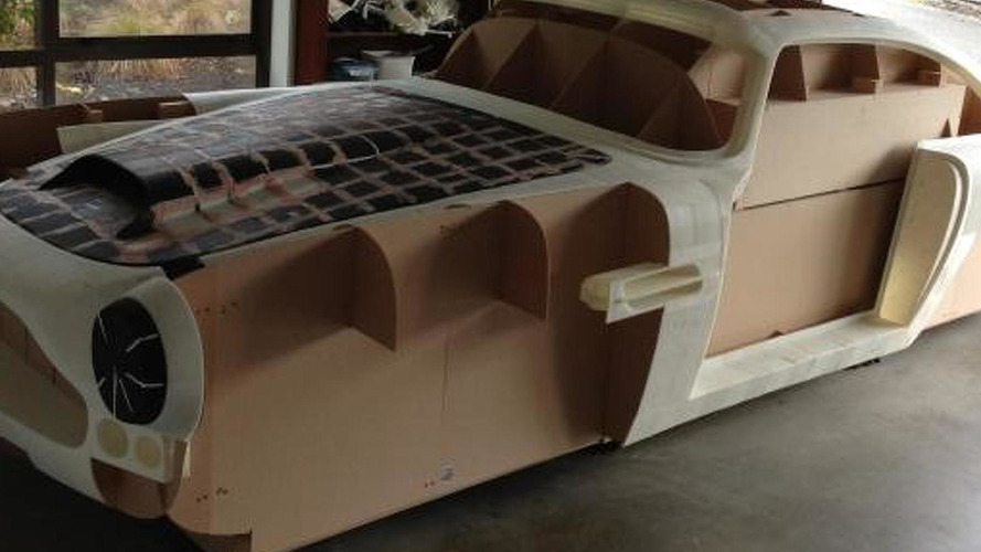 Software engineer uses 3D printer to build body of a 1961 Aston Martin DB4