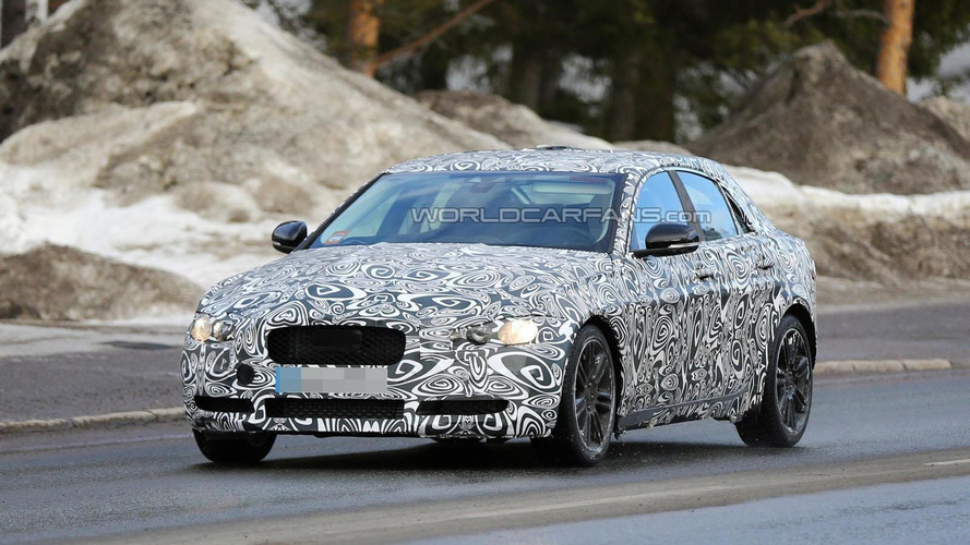 2015 Jaguar XE spied, will be introduced later this year